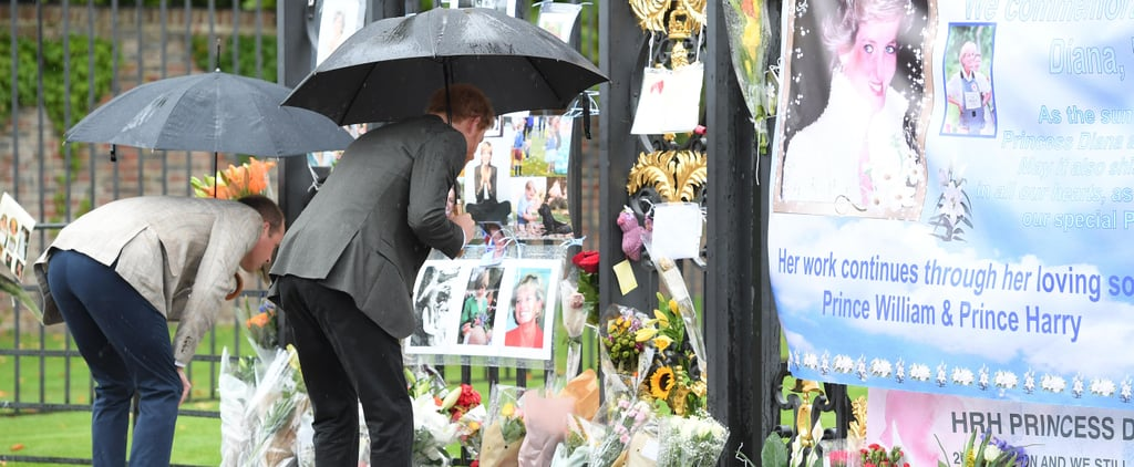 These Heartwarming Photos of William and Harry Will Take You Back to the Day of Diana's Funeral
