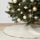 Starburst Lurex Christmas Tree Skirt