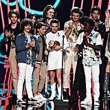 Stranger Things Cast Speech at MTV Movie and TV Awards 2017