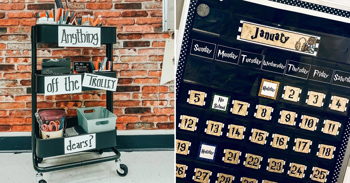 Harry Potter Classroom Decoration Ideas Popsugar Family