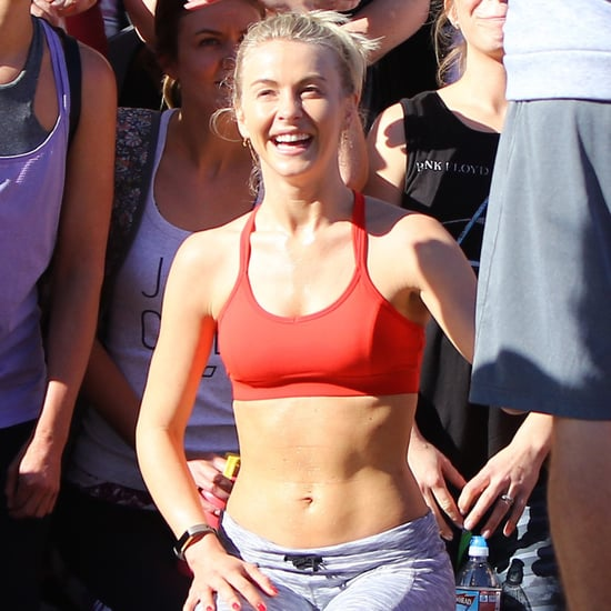Pictures of Julianne Hough's Abs