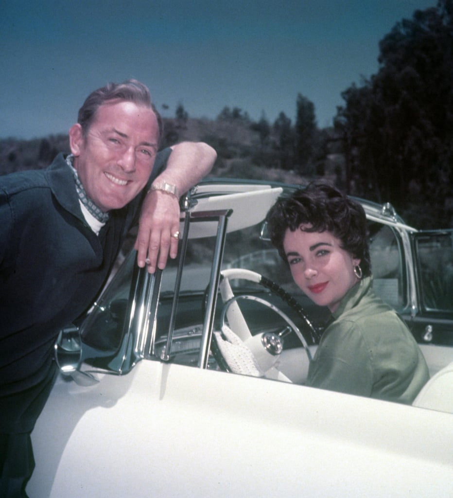 Michael Wilding and Elizabeth Taylor circa 1953.