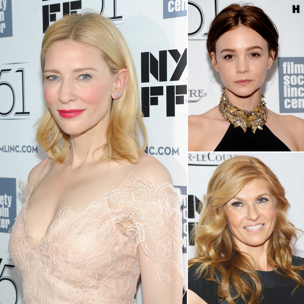 Carey, Cate, and Connie Come Together at the New York Film Festival