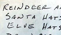 Santa's Weird List