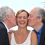 Jean-Pierre Dardenne, Cecile de France, and Luc Dardenne