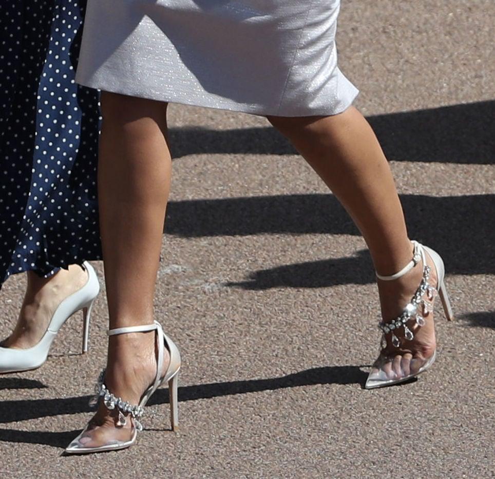 A Closer Look At Priyanka Choprau0027s Jimmy Choo X Off White Victoria Heels  ($1,995