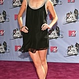Rachael wore a LBD to the MTV Movie Awards in 2007.