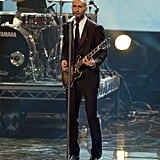 Adam Levine and Maroon 5 at the 2007 American Music Awards