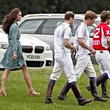 Kate Middleton Pictures at William and Harry's Polo
