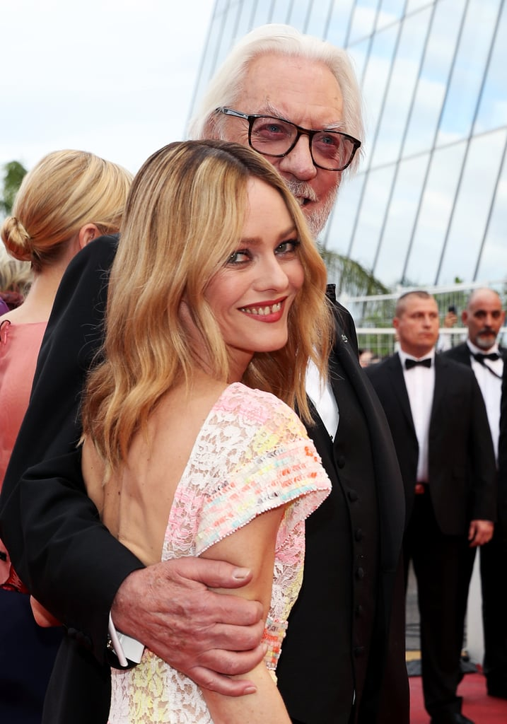 Pictured: Vanessa Paradis and Donald Sutherland
