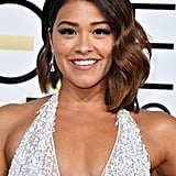 Gina Rodriguez's Dress at the 2017 Golden Globes