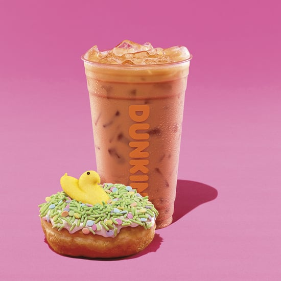 Dunkin' Donuts Peeps Flavored Donuts and Coffee April 2019