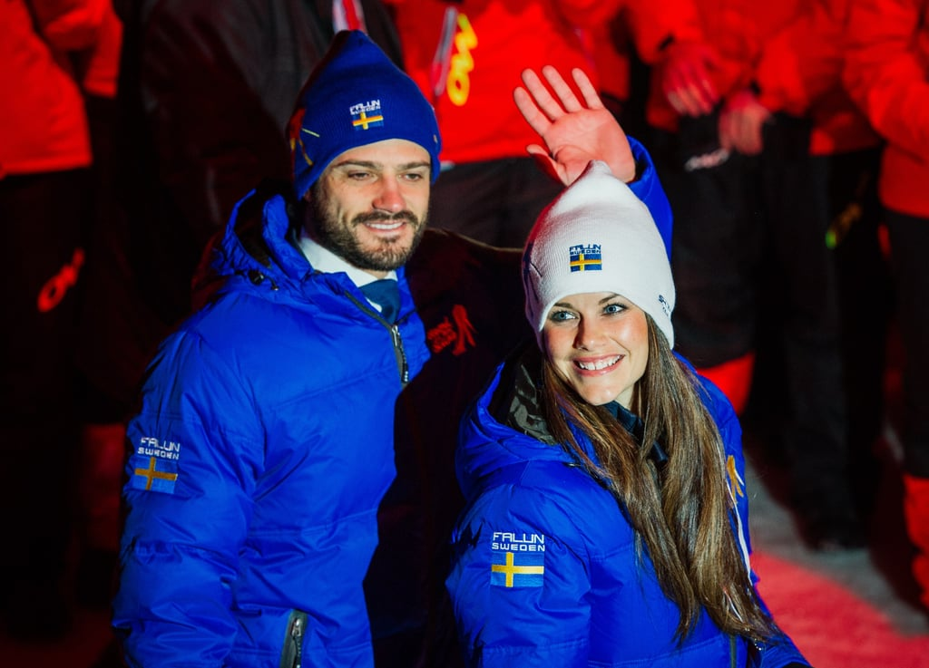 The couple bundled up for the FIS Nordic World Ski Championships in February 2015.