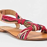 The eclectic chain-and-rope threading offers up a music festival-ready look. Ecote Rope-Chain T-Strap Sandal ($39)