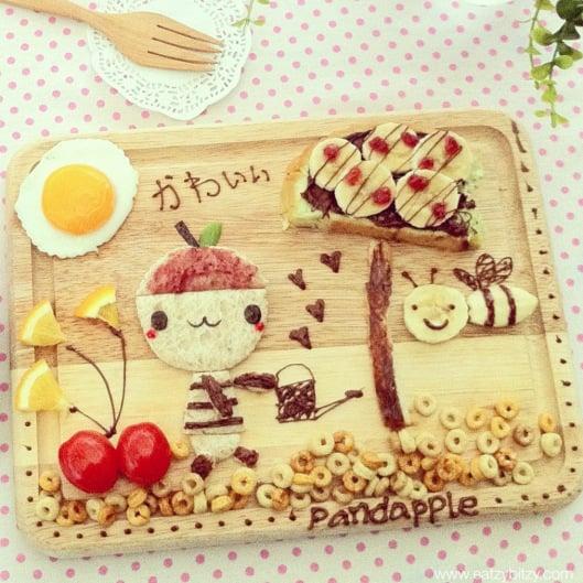 Food Art a Hit on Instagram