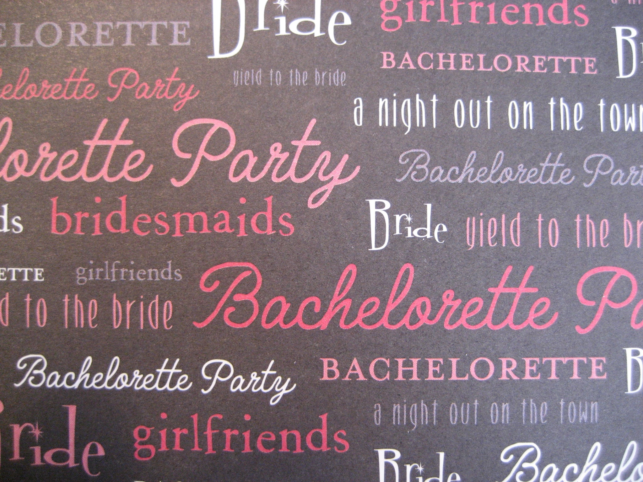 Come Party With Me: Bachelorette Party - Invites