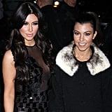 Kim Kardashian Spends Her Morning With Matt and Regis, Evening With Kris