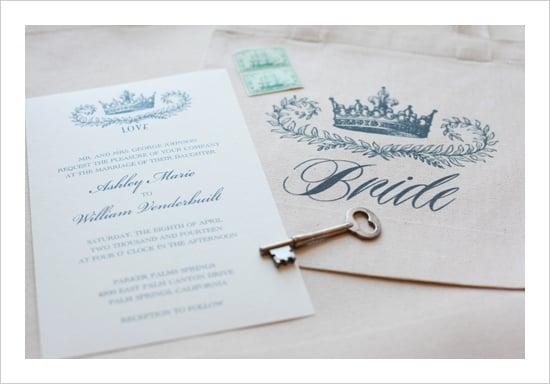 Ombre Wedding Invitation: Ombré Hearts Invitation