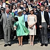 May: He and Meghan Made Their First Appearance as Husband and Wife