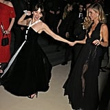 Ophelia Lovibond and Annabelle Wallis