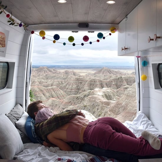 Married Couple Lives and Travels in a Van