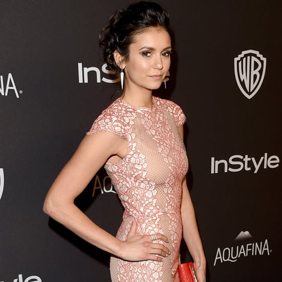 Nina Dobrev at Golden Globes Afterparty 2016