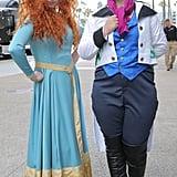 Merida and Hans