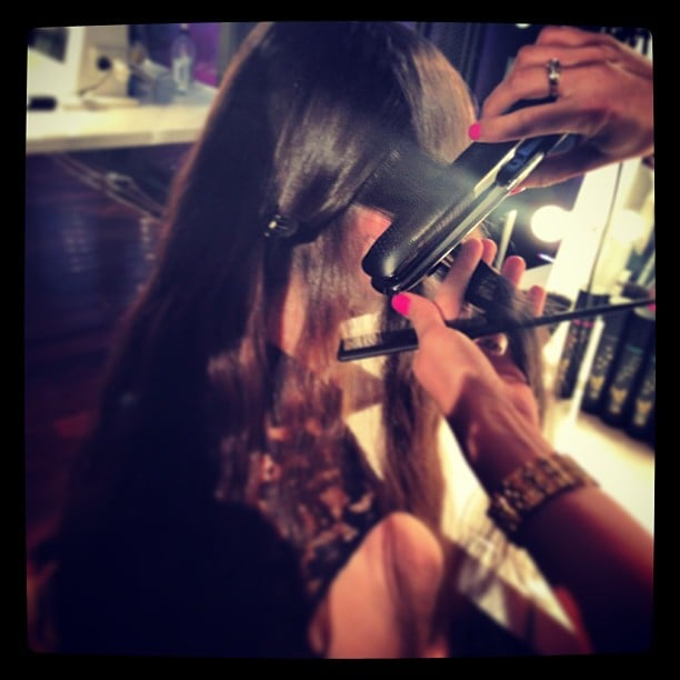 First glimpse: the new ghd Eclipse in action. NASA technology means it stays cool on the outside. Clever.