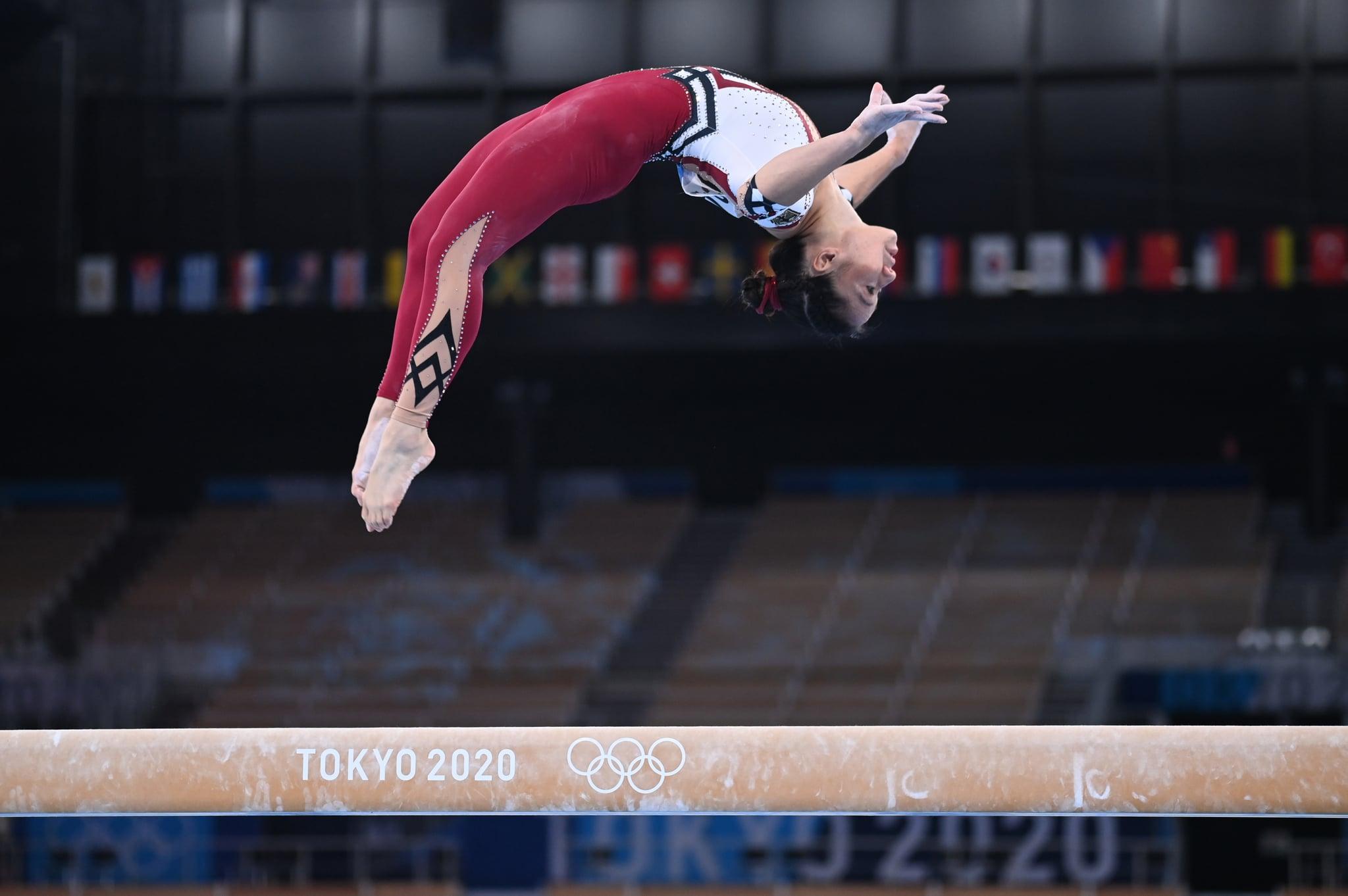 Germany Women's Gymnastics Team Wear Unitards at Olympics | POPSUGAR Fitness