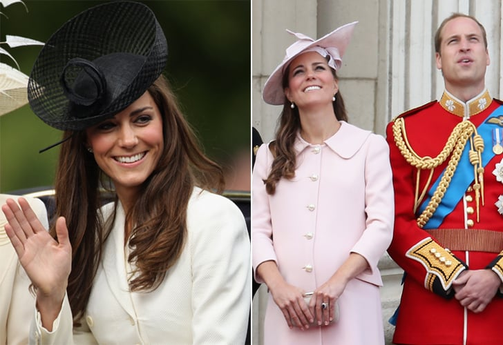 Kate Middleton at Trooping the Colour Through the Years