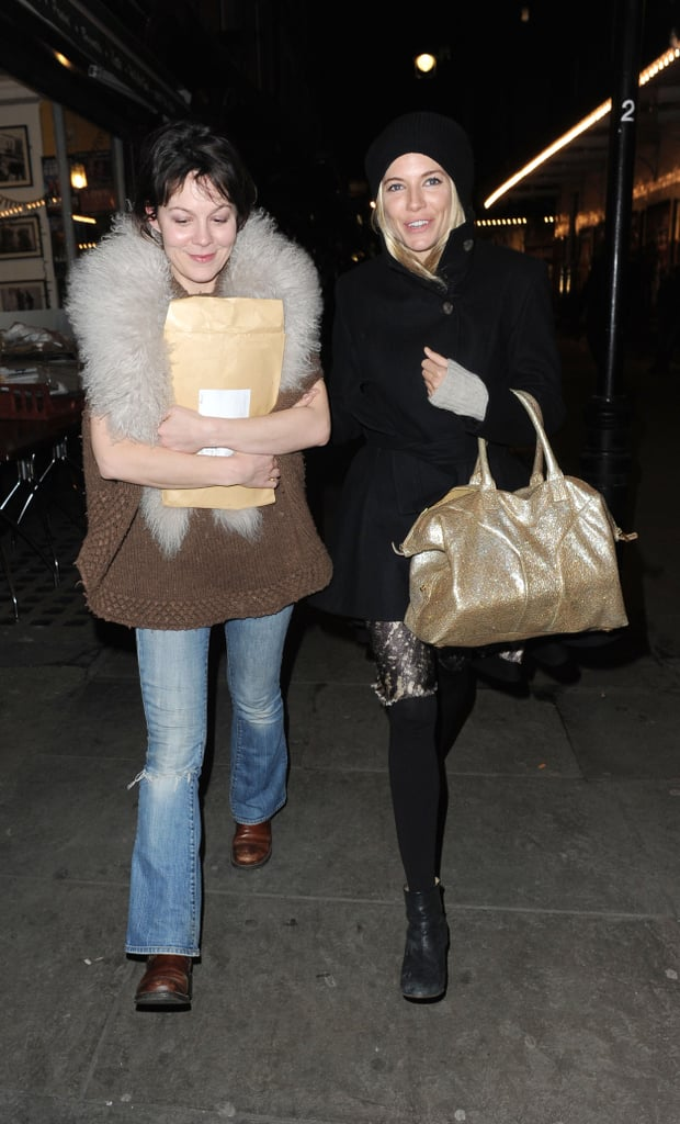 Pictures of Sienna Miller Out in London with a Friend