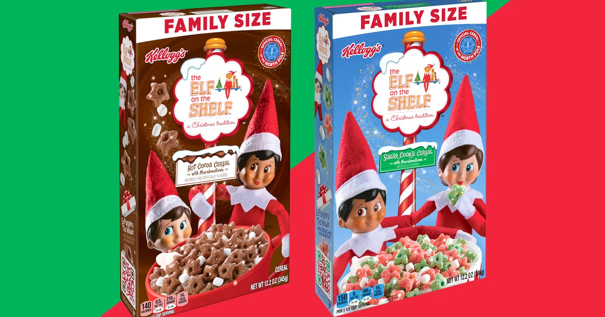 A New Elf on the Shelf Cereal Is Coming to Walmart, and It Tastes Like a Cup of Hot Cocoa.jpg