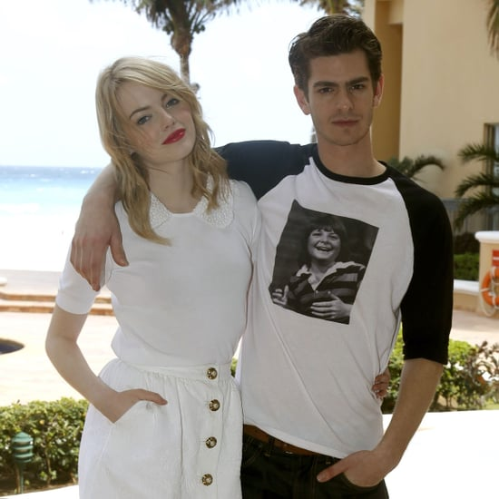Emma Stone and Andrew Garfield Pictures Promoting The Amazing Spider-Man in Cancun