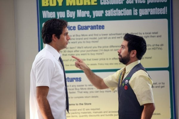 Interview With Zachary Levi And Joshua Gomez About Upcoming Episodes Of Chuck Popsugar Entertainment Joshua gomez and julia ling in chuck (2007). popsugar