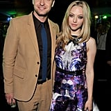 Justin Timberlake and Amanda Seyfried showed a united front after the premiere of their film.