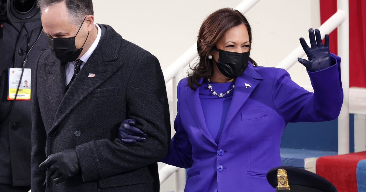 Kamala Harris Supports a Black LGBTQ+ Designer With Her Purple Inauguration Coat