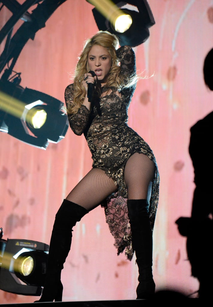 Shakira Straddles Her Boyfriend Backstage at the Billboard Awards