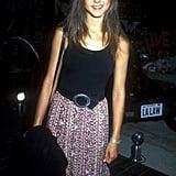 A Velvet Buckle Belt to Cinch Her Boho Maxi Skirt