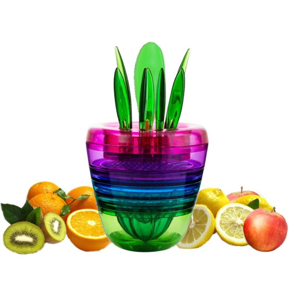 True & Tidy Smart Fruit Set With Bonus Fruit and Veggie Peeler