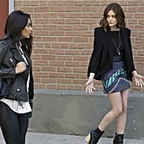 This skirt is something Aria's high school self would definitely approve of.