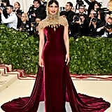 Priyanka Chopra Met Gala Dress 2018