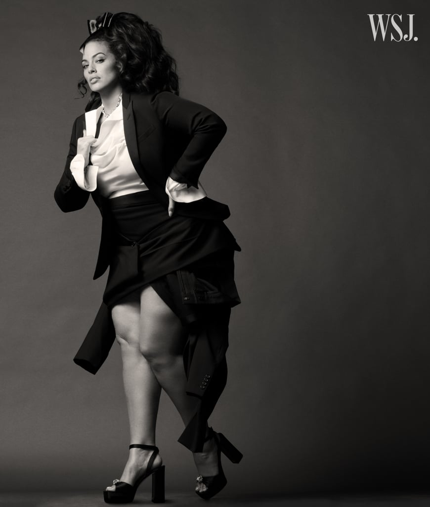 Ashley Graham Wears Retro Outfits For WSJ. Magazine