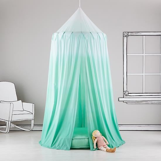 For 1-Year-Olds: The Land of Nod Green Ombre Play Canopy