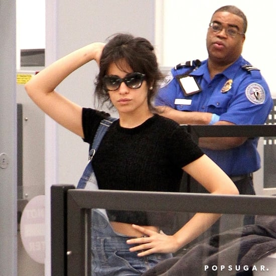 Camila Cabello Taking Photos at LAX Airport March 2018