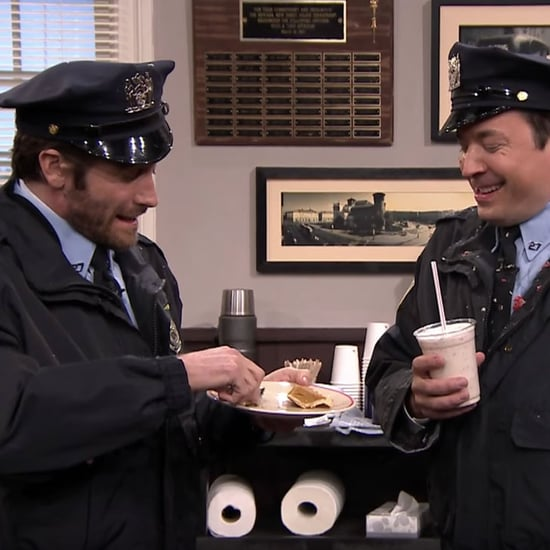 Jake Gyllenhaal and Jimmy Fallon Spitting Cops Video 2016