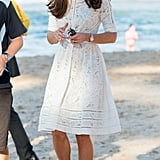 Kate Middleton wearing Zimmermann.