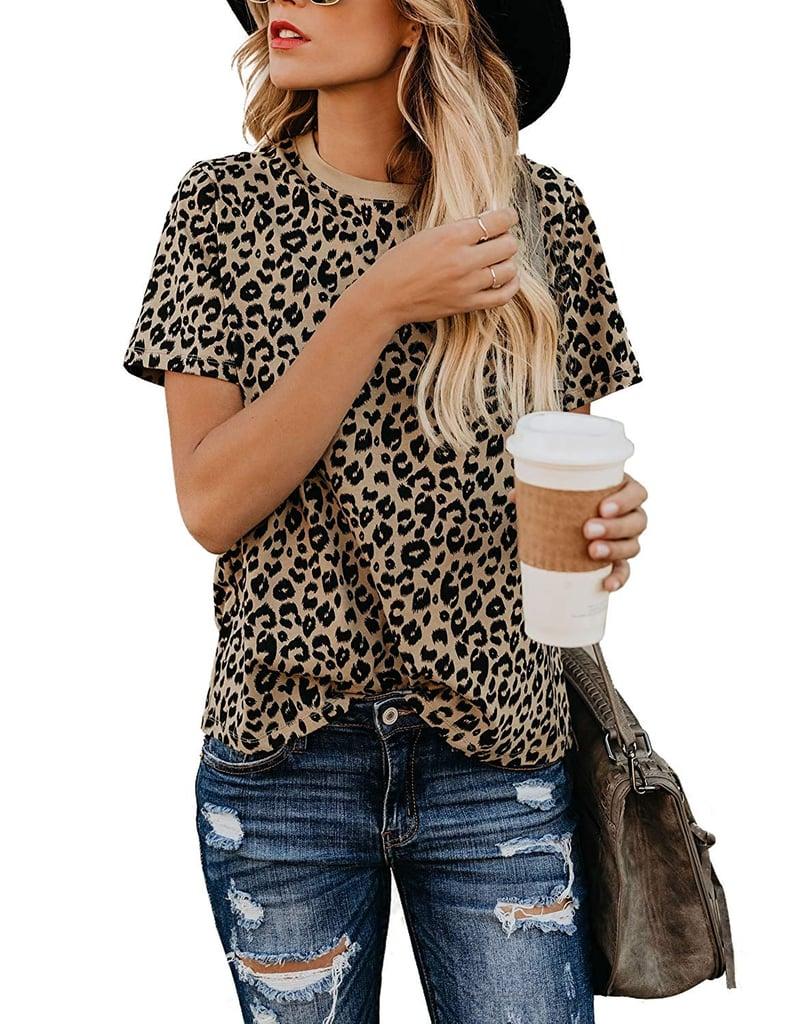 BMJL Leopard Short-Sleeved Shirt