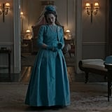 A look at the Netflix show's version of Queen Elizabeth's gown.