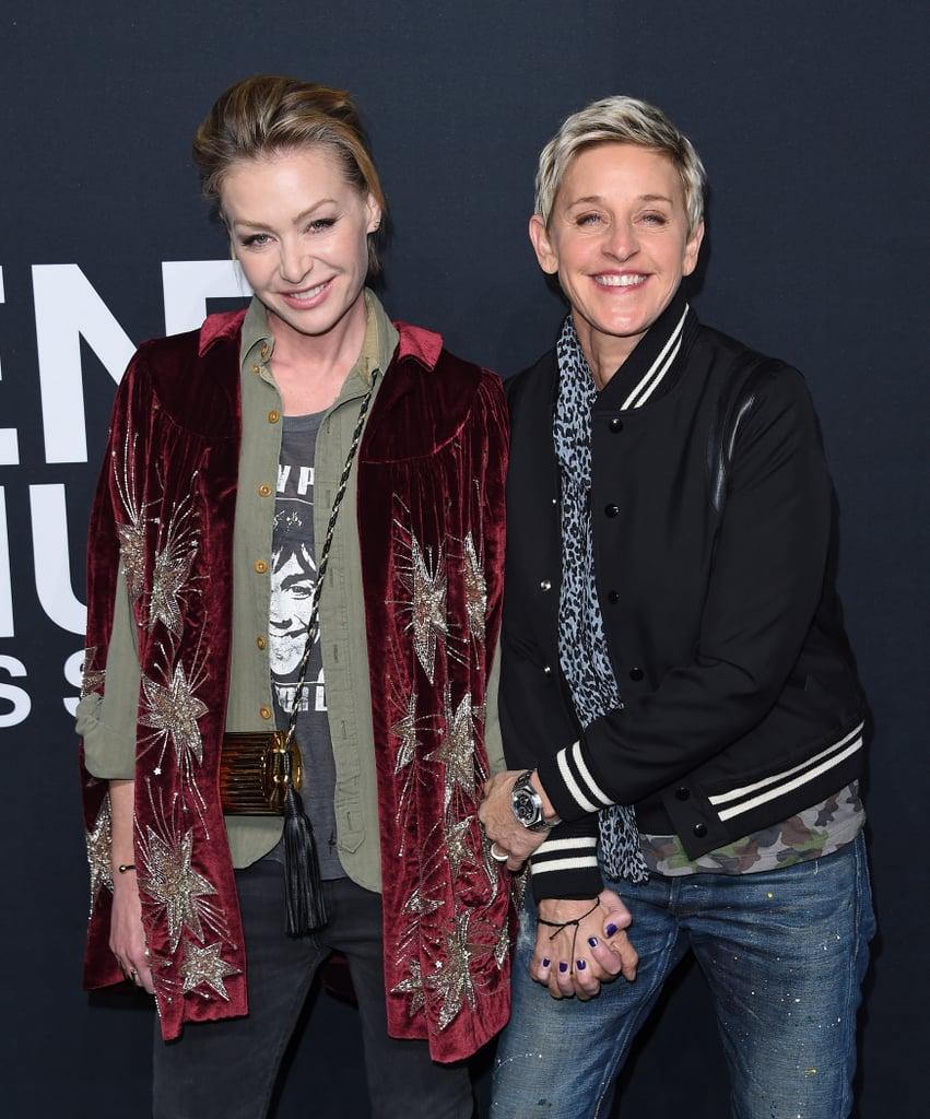 Ellen DeGeneres and Portia de Rossi, 2016