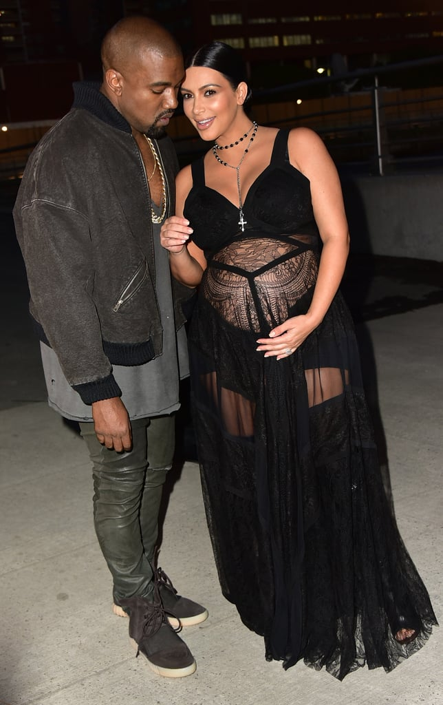 Kim and Kanye made a cute duo at Givenchy's NYC show in September 2015.
